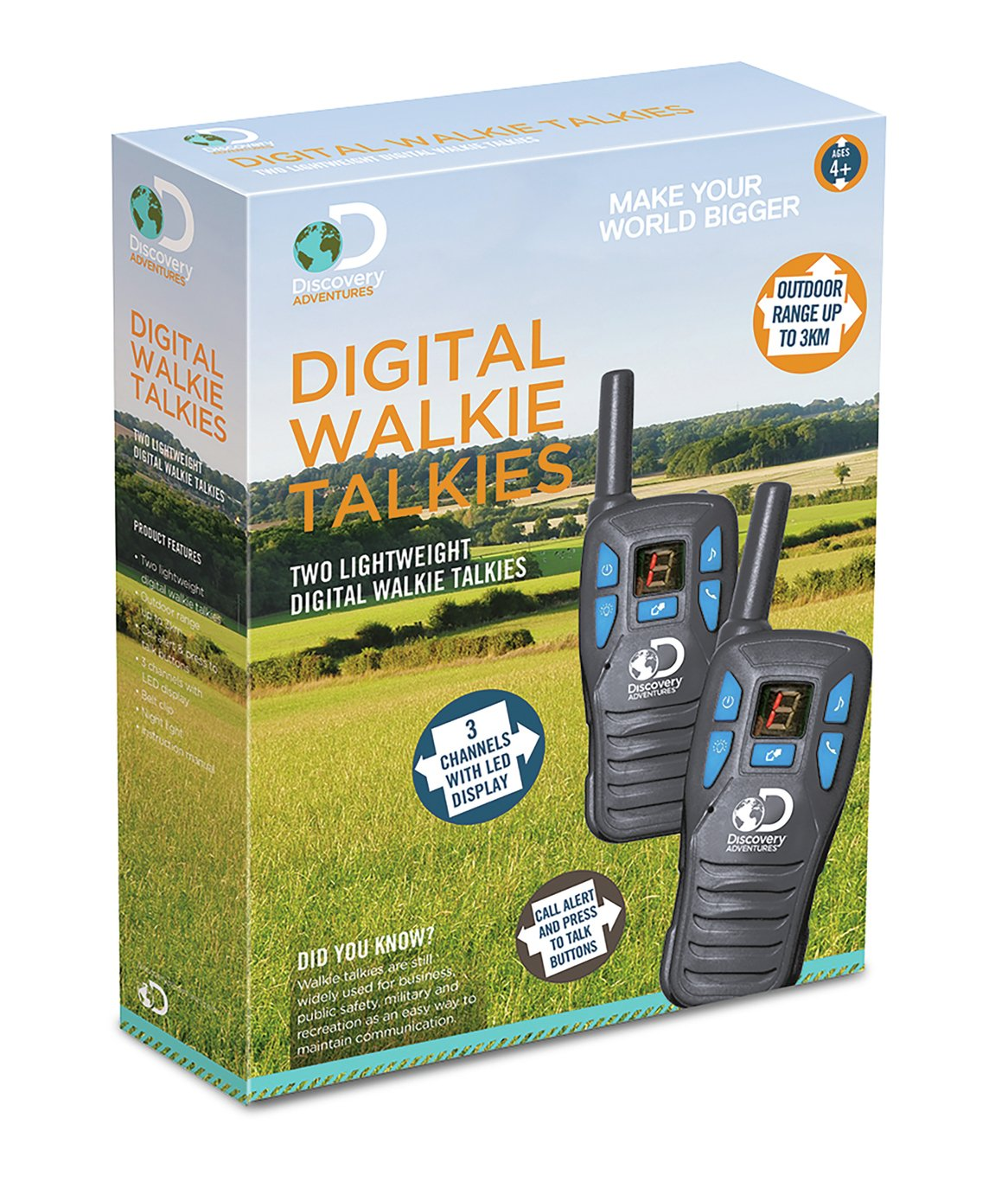 Image of Discovery Channel Walkie Talkies