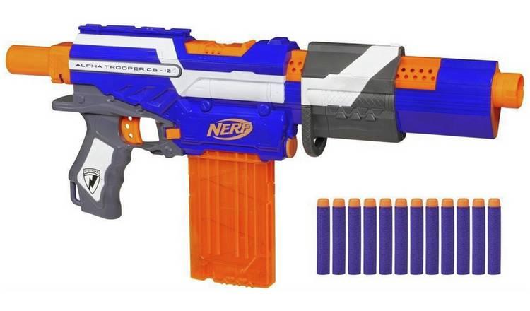 Buy Nerf N Strike Elite Alpha Trooper Blaster Nerf Blasters Argos