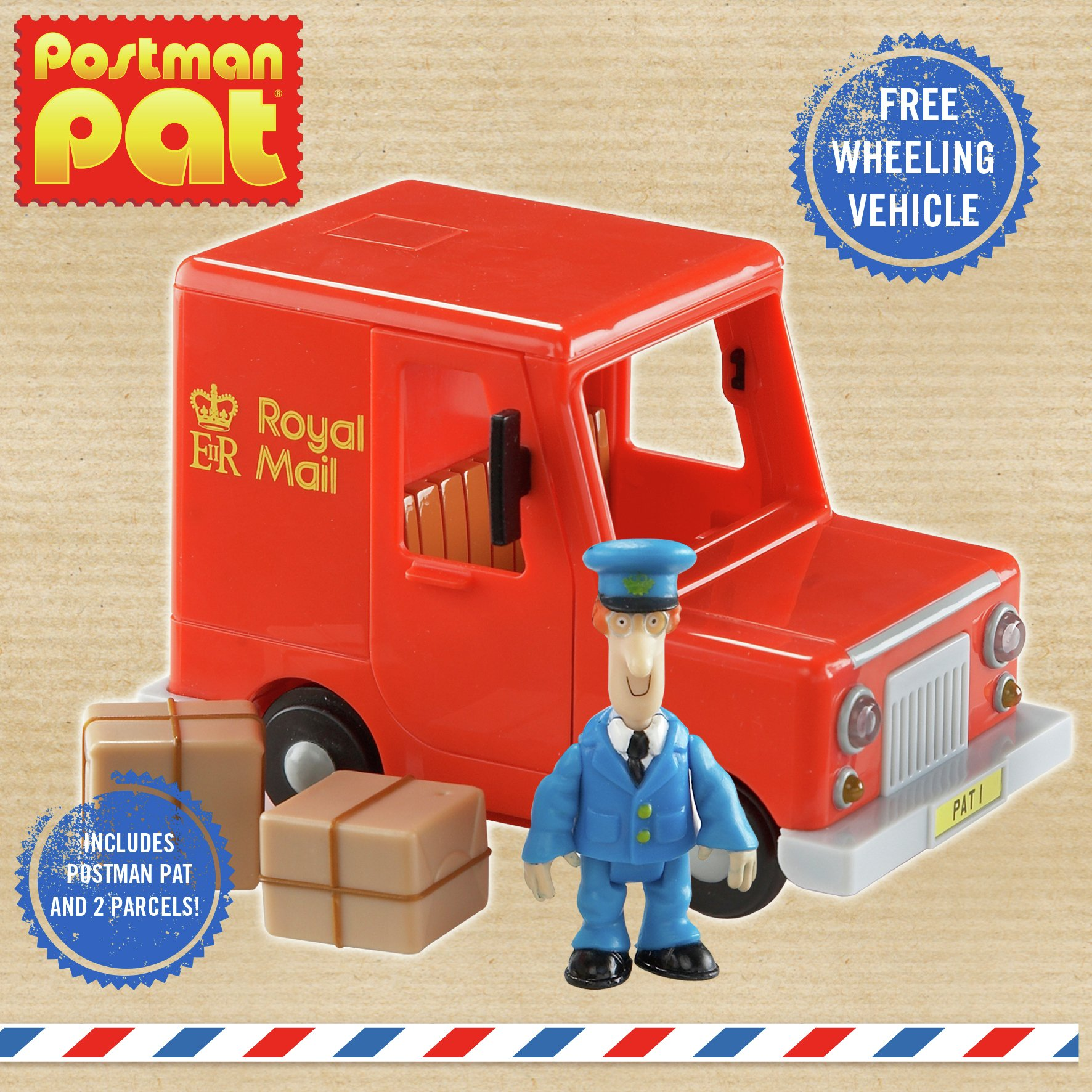 Postman Pat Classic Royal Mail Van