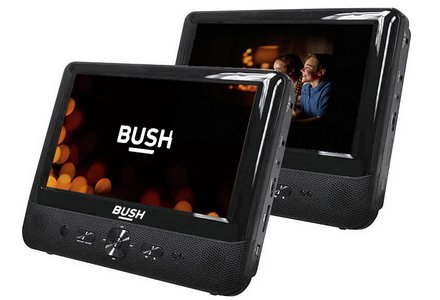 Image of Bush 9in Dual Screen In-Car DVD Player