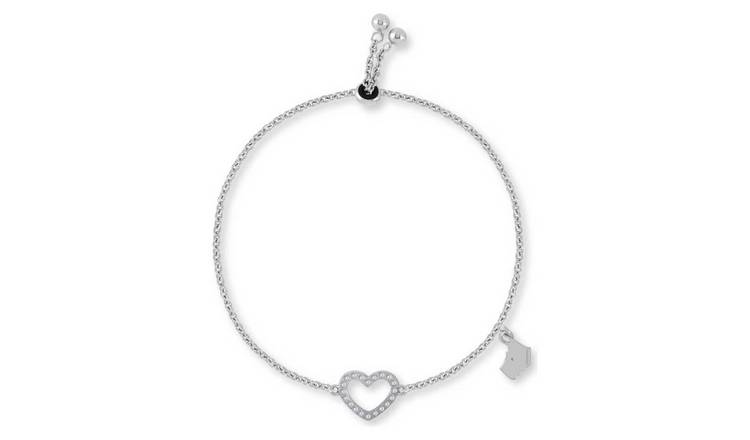 f7b82786b128ba Buy Radley Open Heart Sterling Silver Bracelet | Ladies' bracelets and ...