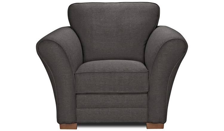 Argos Home Thornton Fabric Armchair - Charcoal