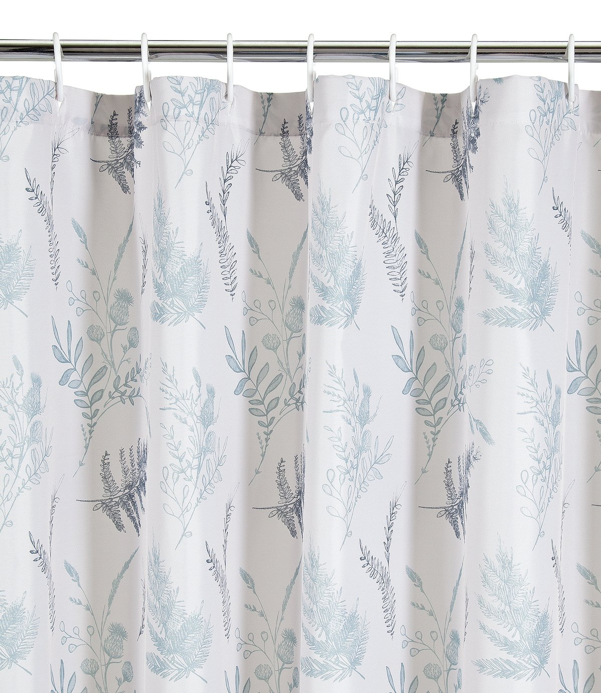 Argos Home Outline Floral Shower Curtain