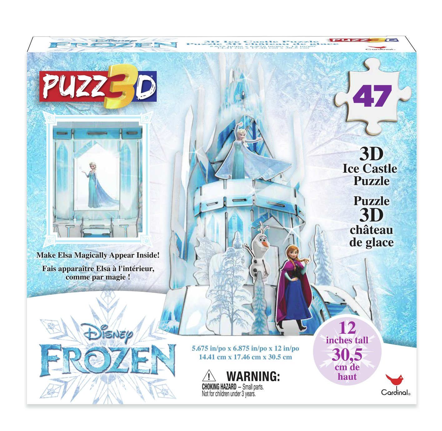 Disney Frozen 2 3D Palace Puzzle Playset