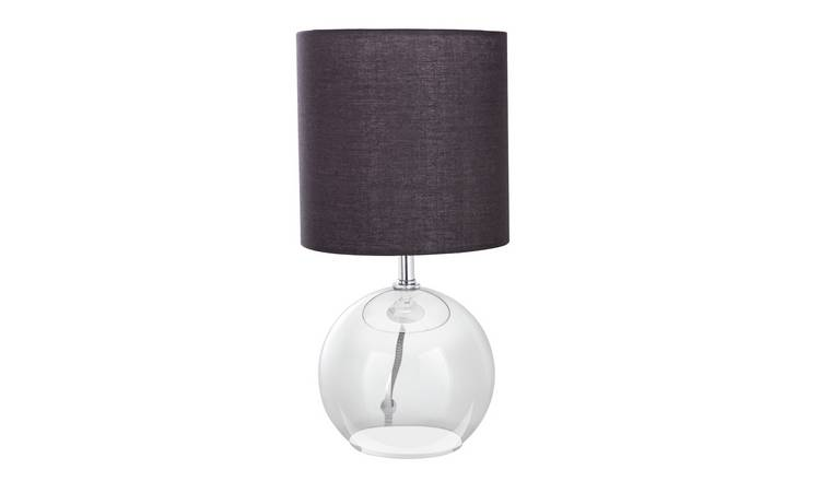 Buy Argos Home Glass Table Lamp Amber