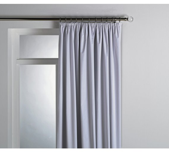 Curtains Ideas blackout curtain backing : Buy HOME Pleat Top Blackout Curtain Lining - 168x178cm - White at ...