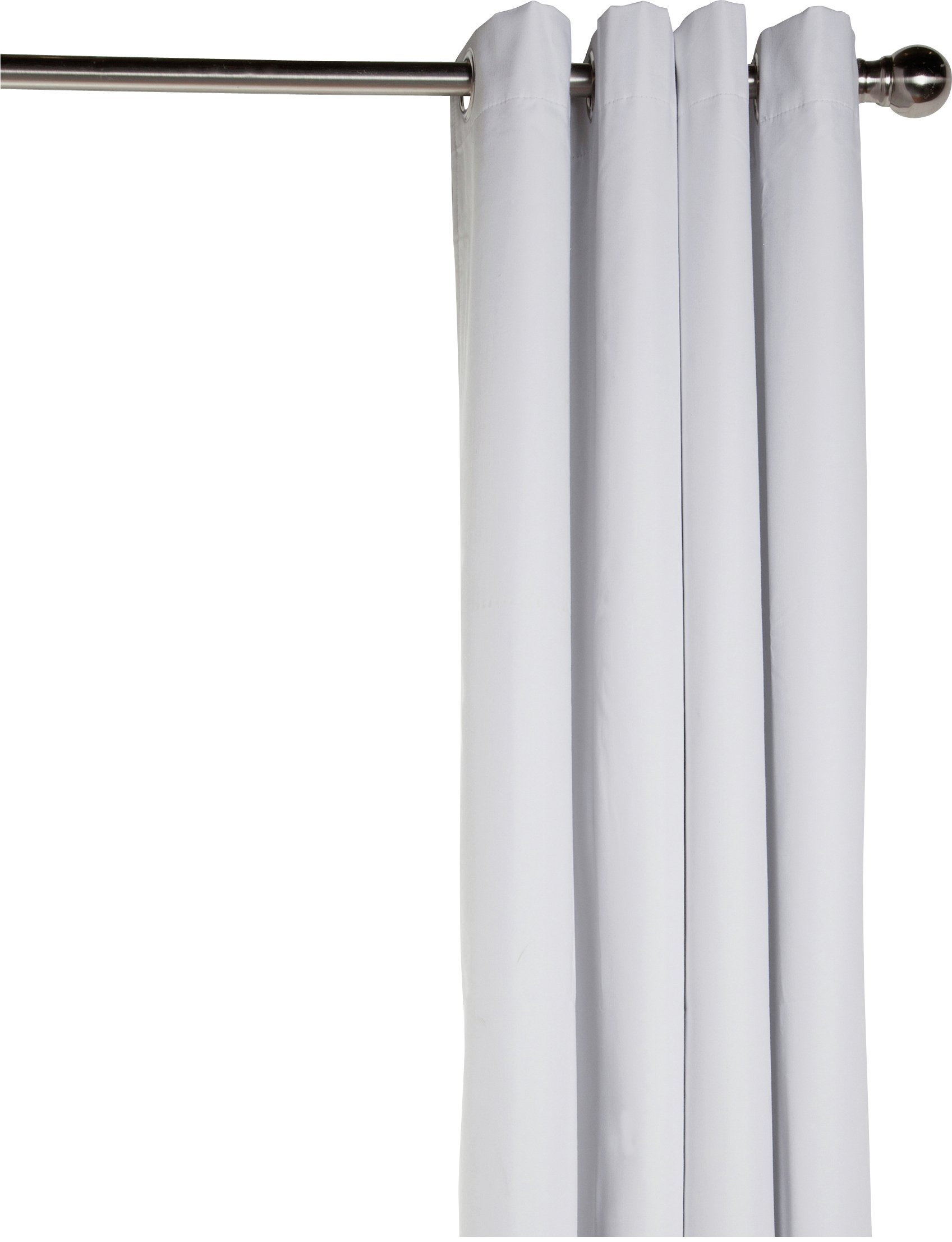 HOME Blackout Curtain Lining - 168x178cm - White