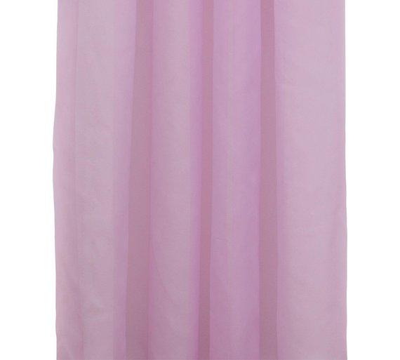 Buy ColourMatch Pair of Voile Panels - 152x228cm-Bubblegum Pink at ...