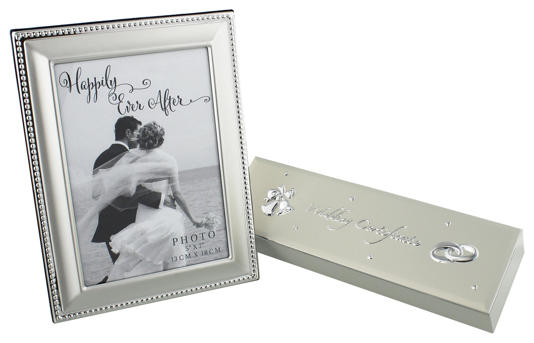 Image of Happily Ever After Silver Plated Frame/Certificate Holder