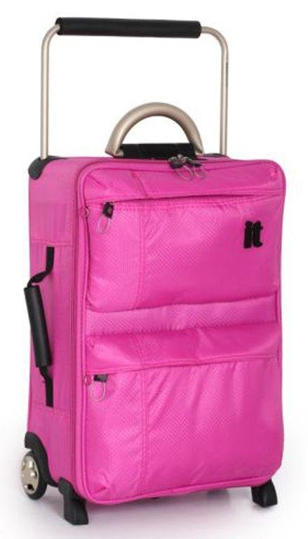 Buy IT World's Lightest Small 2 Wheel Suitcase - Pink at Argos.co ...