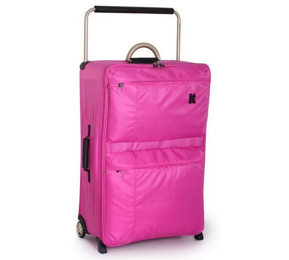 Buy IT World's Lightest Large 2 Wheel Suitcase - Pink at Argos.co ...