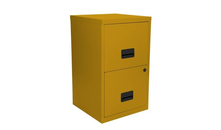 new product d0685 2bf71 Buy Pierre Henry 2 Drawer Metal Filing Cabinet - Mustard Yellow | Filing  cabinets and office storage | Argos