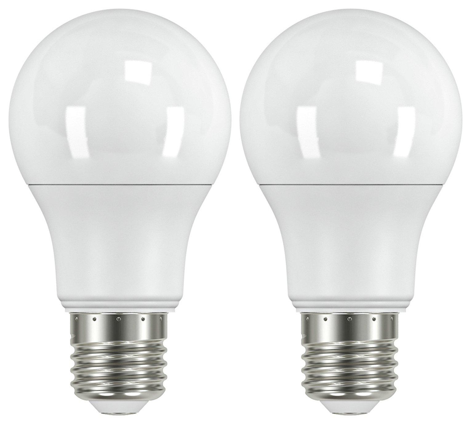Argos Home 8W LED ES Light Bulb - 2 Pack