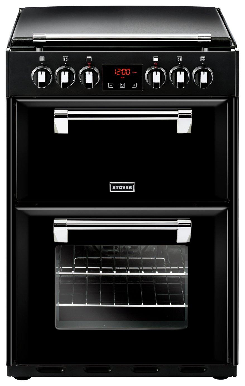 Stoves Richmond 600E 60cm Double Electric Cooker - Black