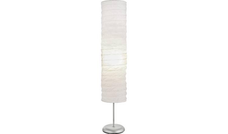 Buy Argos Home Tube Paper Floor Lamp White Floor Lamps Argos