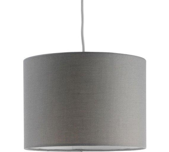 Colourmatch fabric light shade flint grey