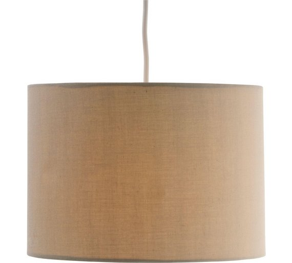 Buy ColourMatch Fabric Shade - Cafe Mocha at Argos.co.uk - Your Online Shop for Lamp shades ...