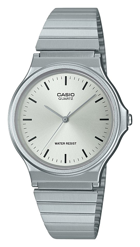 Casio Ladies Silver Stainless Steel Bracelet Watch