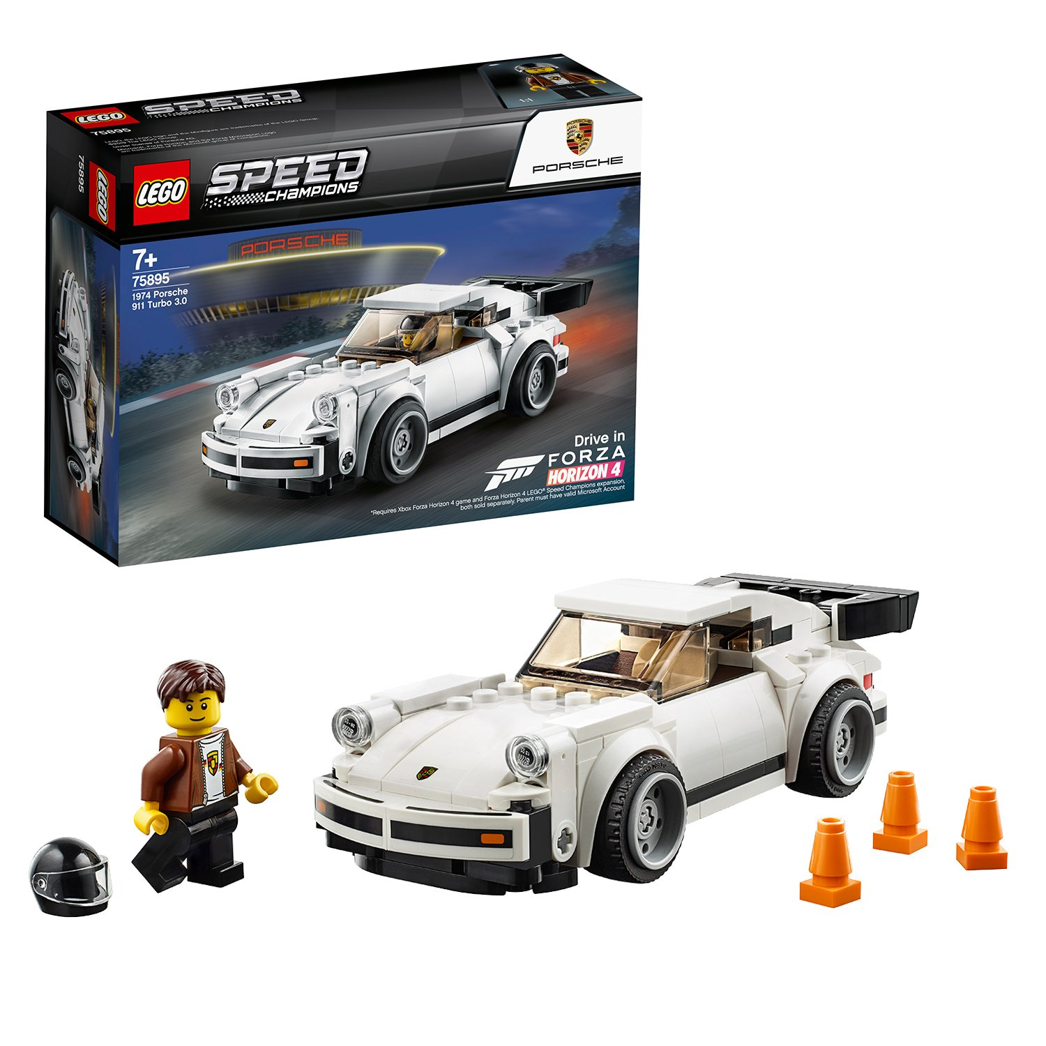 LEGO Speed Champions 1974 Porsche 911 Turbo 3.0 - 75895/t