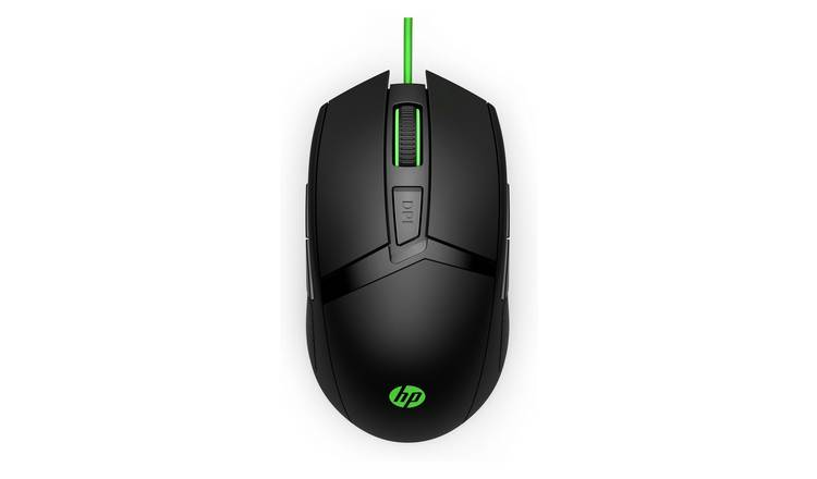 HP 300 Pavilion Wired Gaming Mouse - Black