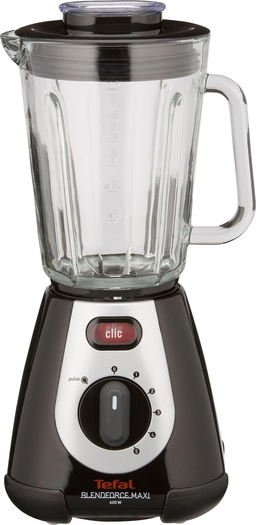 Tefal - BL233865 Blendforce Maxi Glass Blender - Black