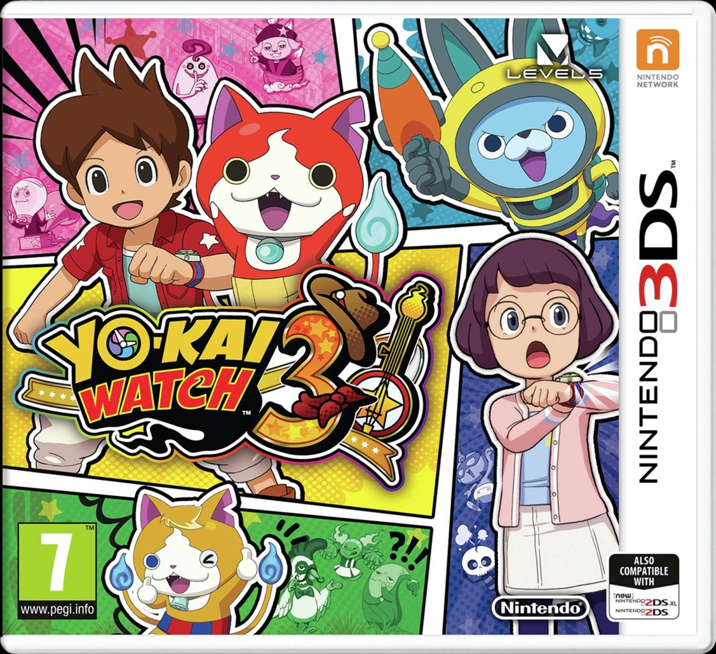 Yo Kai Watch 3 Nintendo 3DS Game