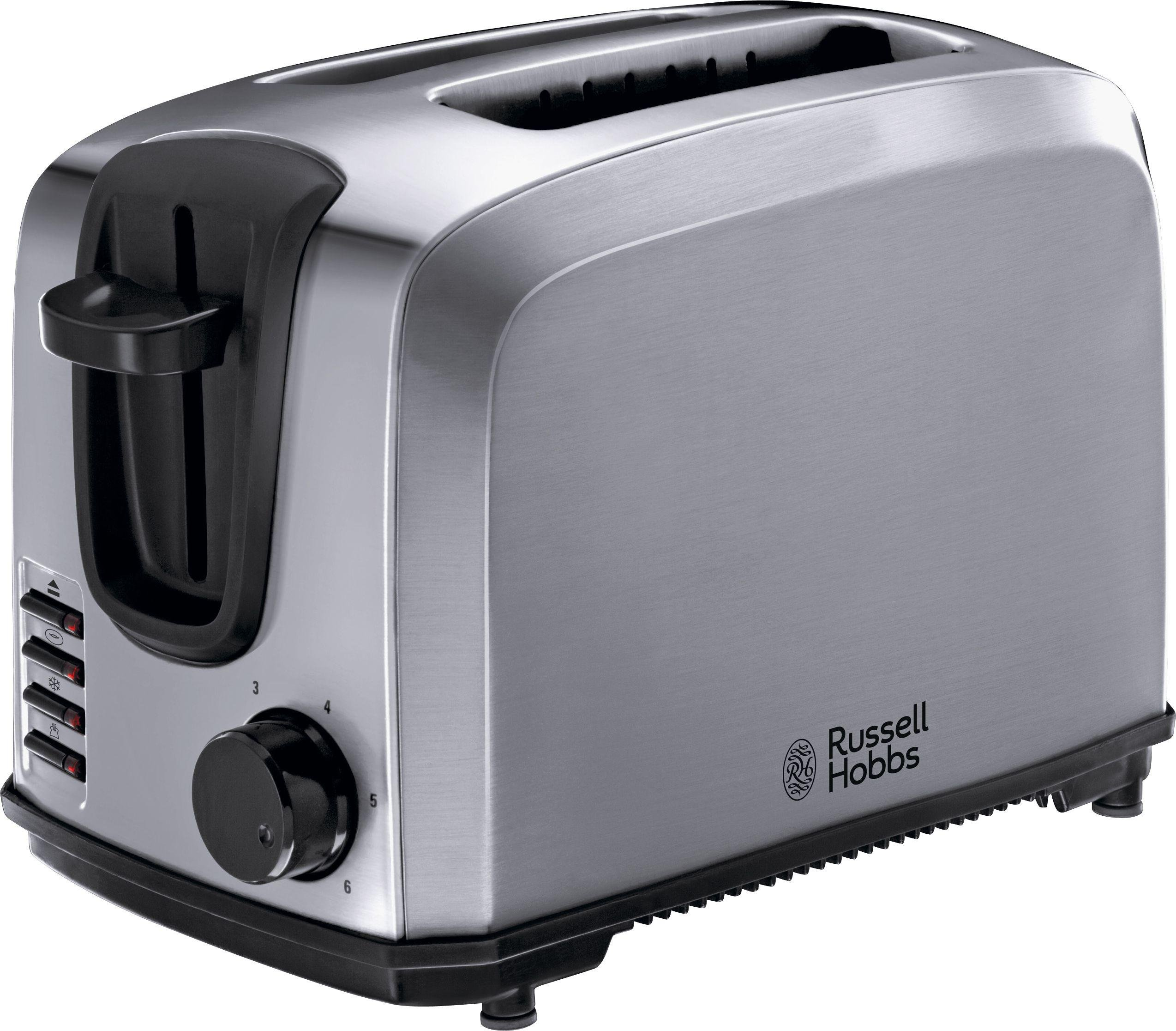 Russell Hobbs – Toaster – 20880 Compact – 2 Slice-Stainless Steel