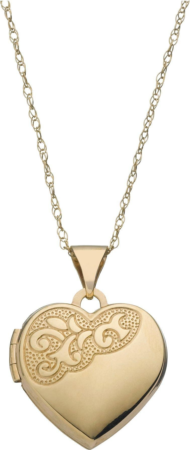 Moon & Back 9ct Gold Heart Locket Review