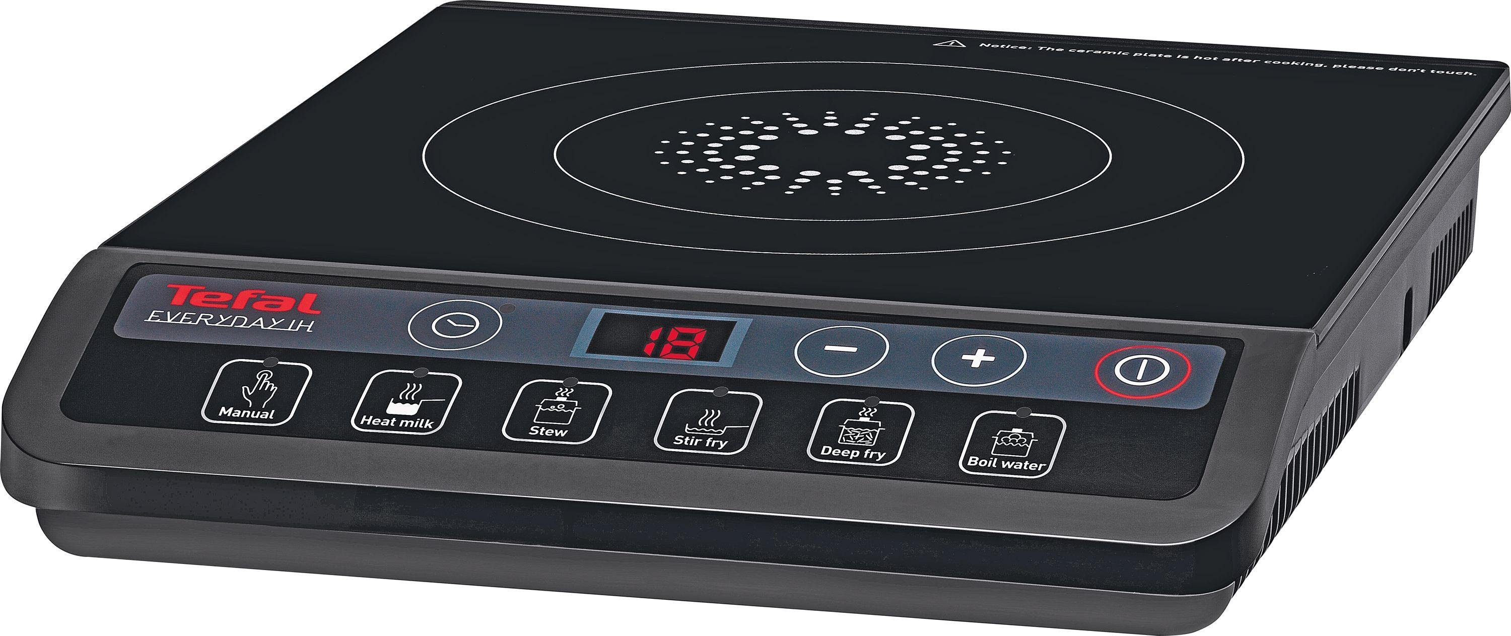 Tefal - IH201840 Induction Hob - Black