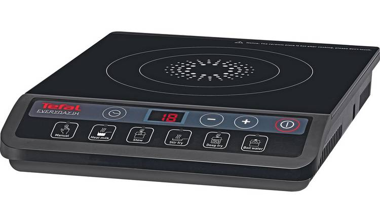 Tefal IH201840 Induction Hob - Black