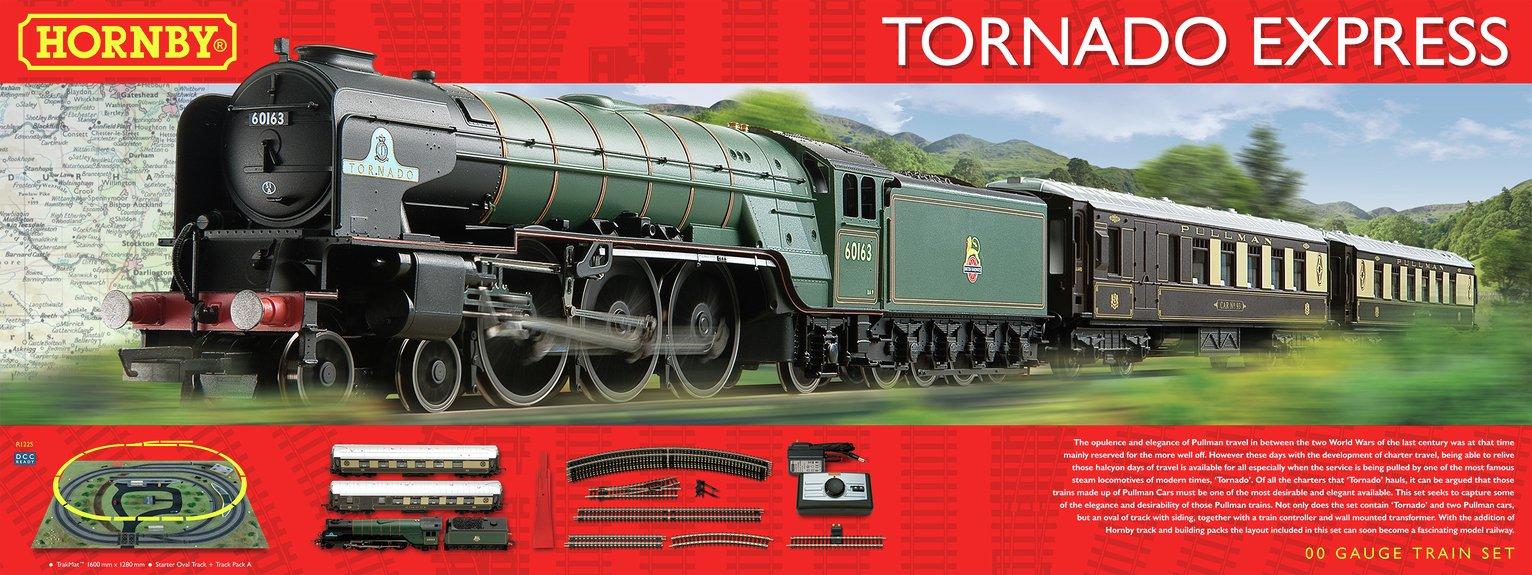 Image of Hornby Tornado Express Train Set