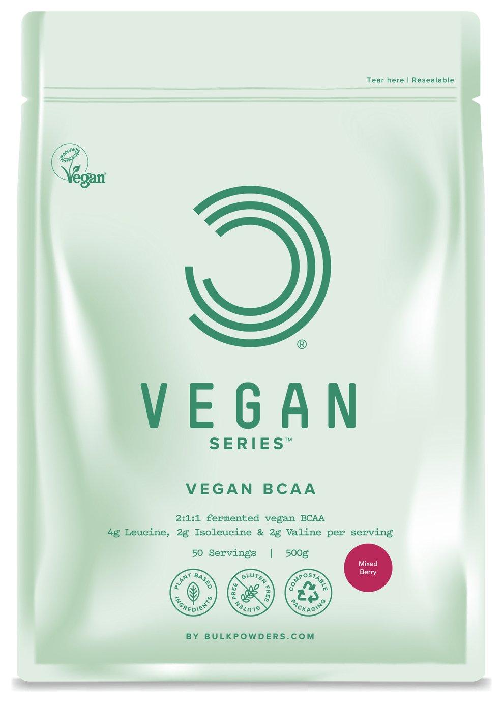 Bulk Powders Mixed Berry Vegan BCAA - 500g