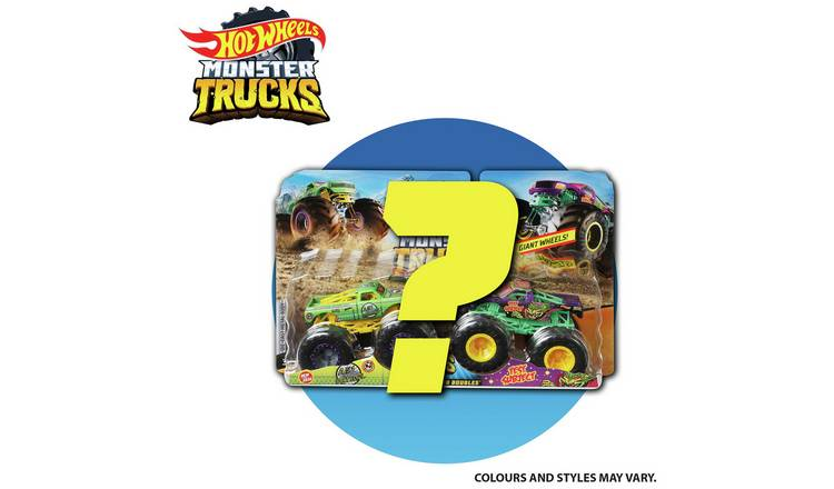 Buy Hot Wheels Monster Truck Twin Pack Toy Cars And Trucks Argos
