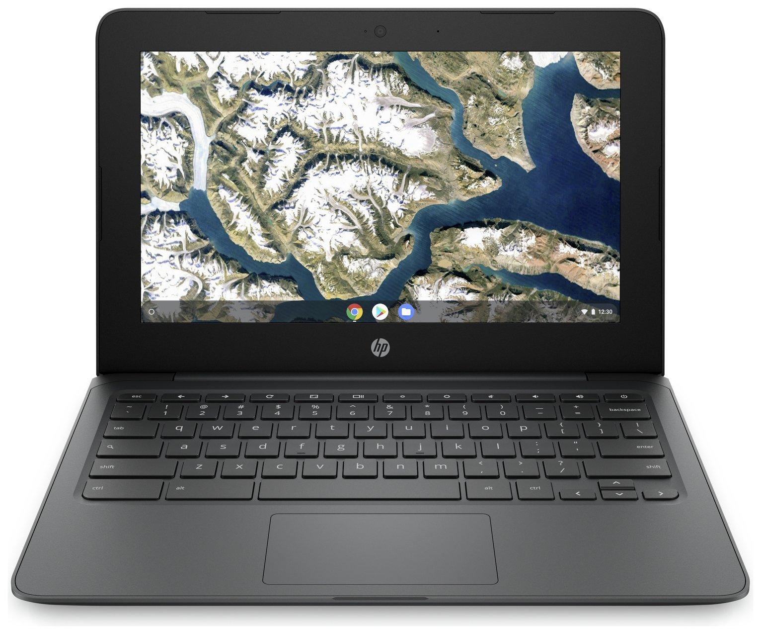 HP 11.6in Celeron 4GB 32GB Chromebook - Grey