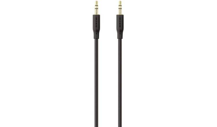 Belkin 1m 3.5mm Portable Audio Cable - Black
