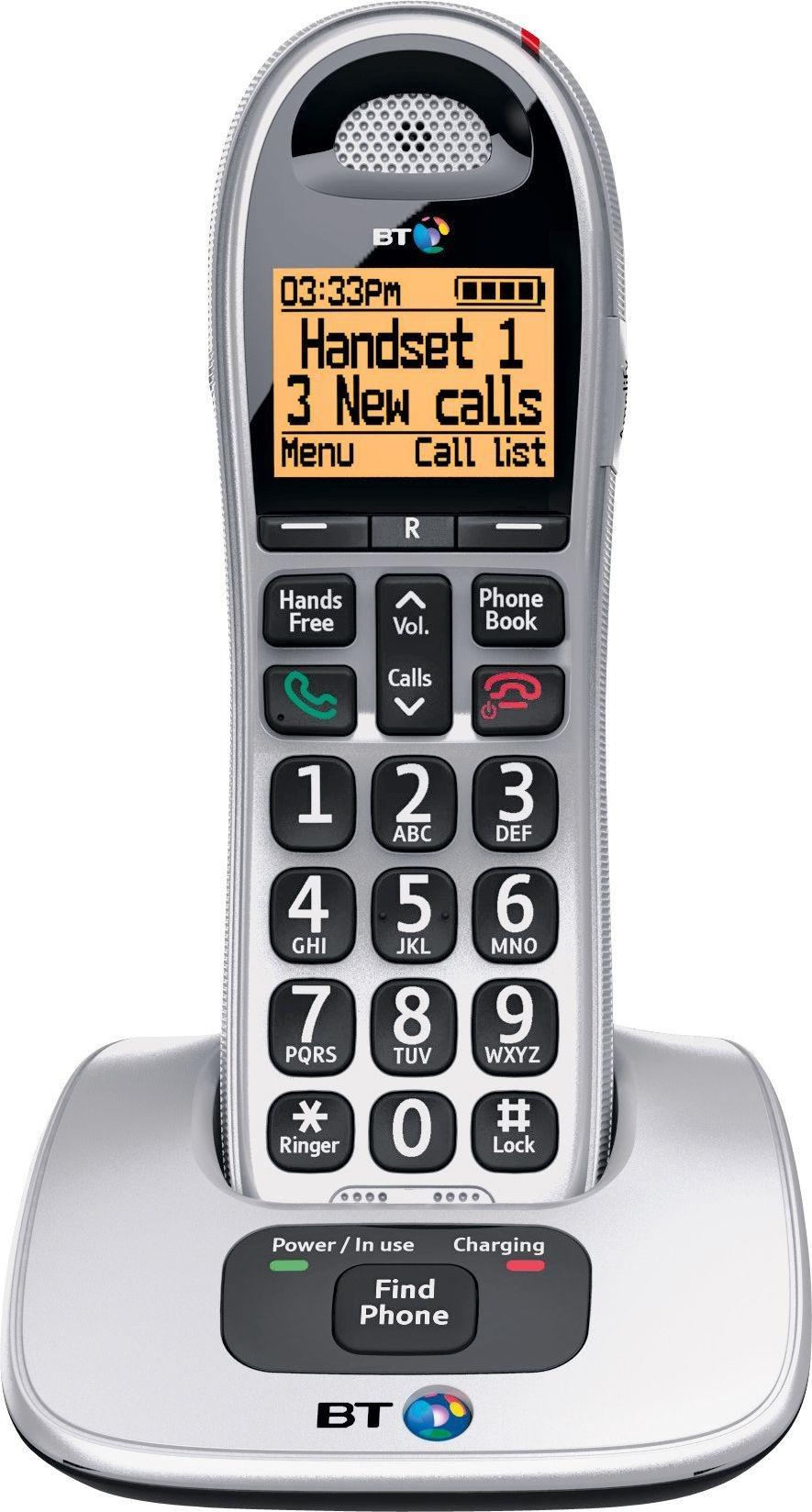BT BT - Big Button 4000 - Cordless Telephone - Single