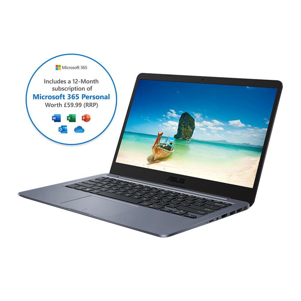 ASUS VivoBook E406 Celeron 4GB 64GB Cloudbook - Grey