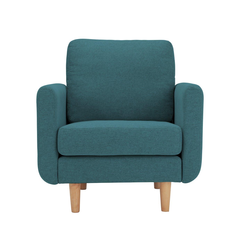 Habitat Remi Fabric Armchair in a Box -Teal