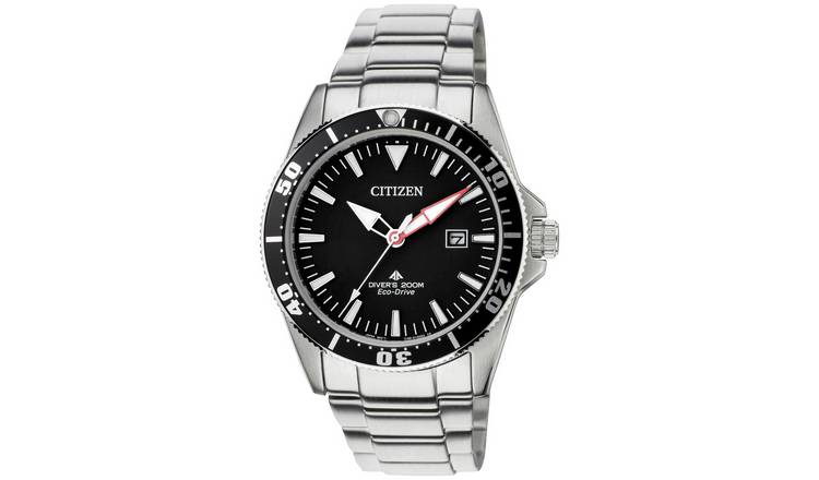 Citizen Men's Silver Coloured Stainless Steel Bracelet Watch