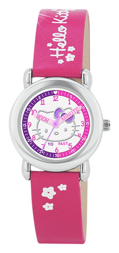 Hello Kitty Pink Time Teacher Watch