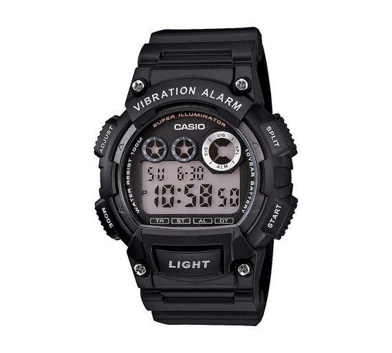 buy casio men s vibration alarm watch at argos co uk your online casio men s vibration alarm watch915 7789