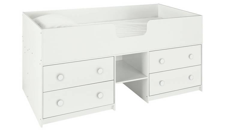 Buy Argos Home Jackson White Shorty Cabin Bed Frame | Kids ...