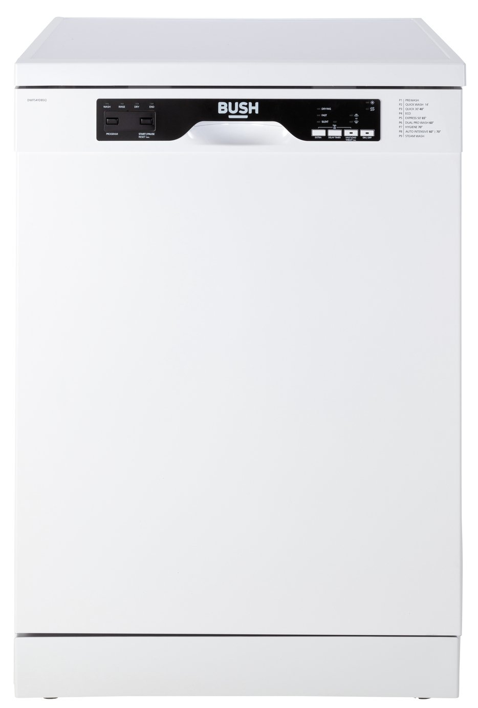 Bush DWFS41DBSQ Full Size Dishwasher - White
