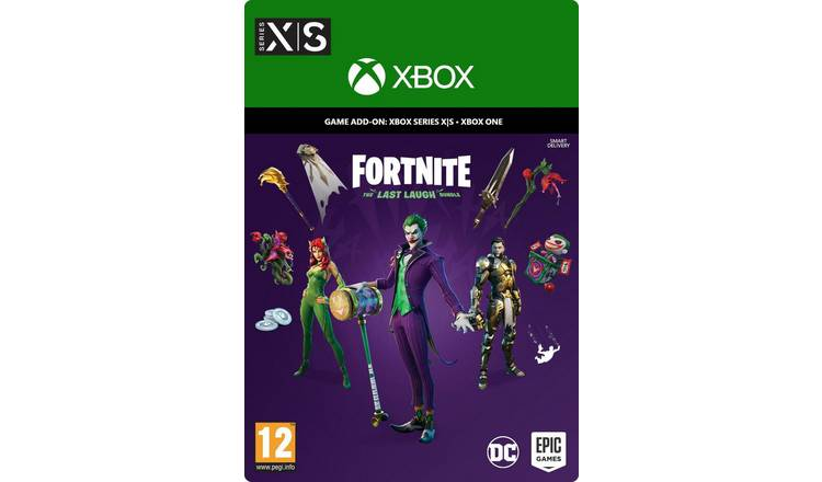 Fortnite: The Last Laugh Bundle Xbox Game - Digital Download