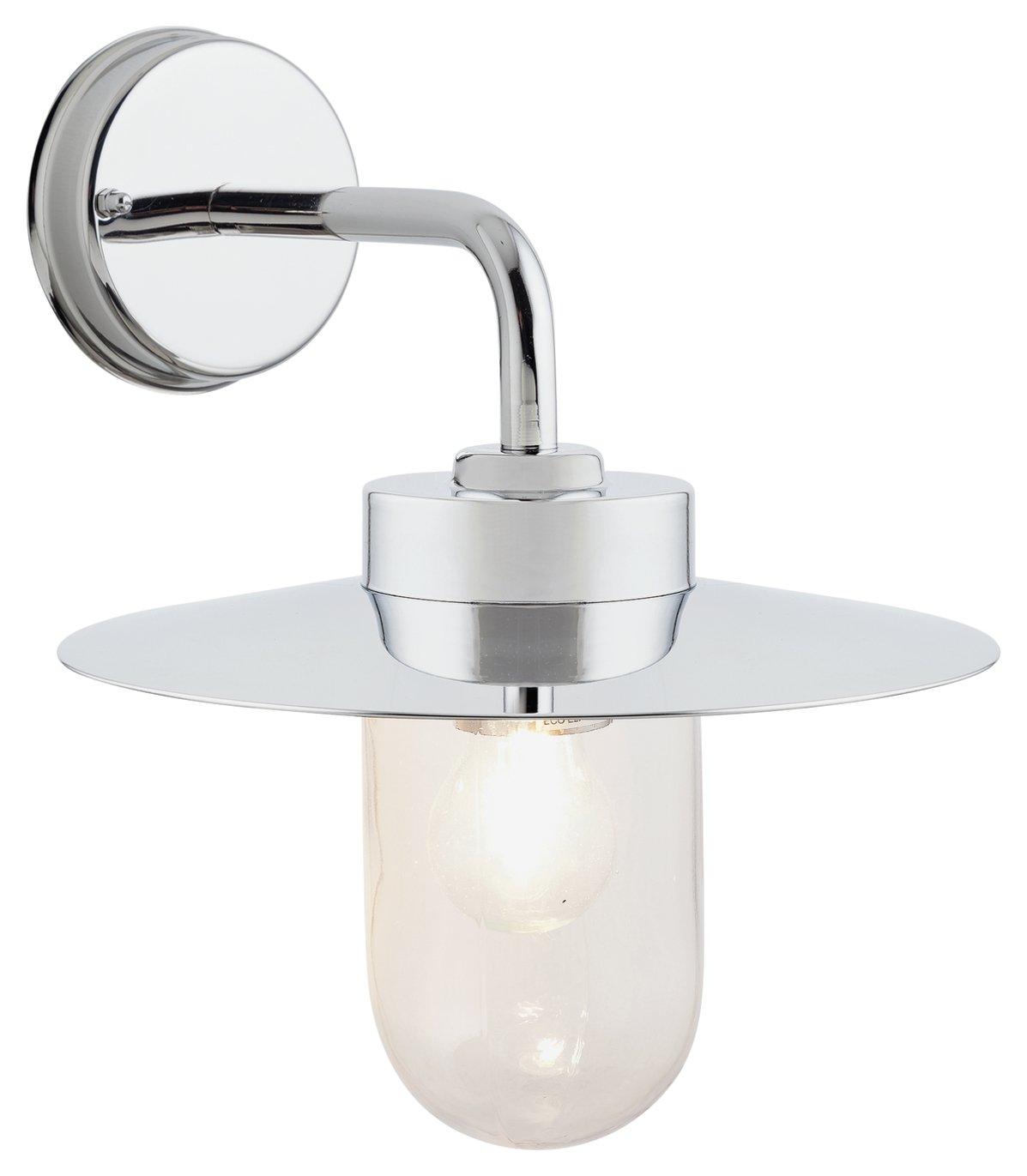 Argos Home Aboyne Stainless Steel Lantern
