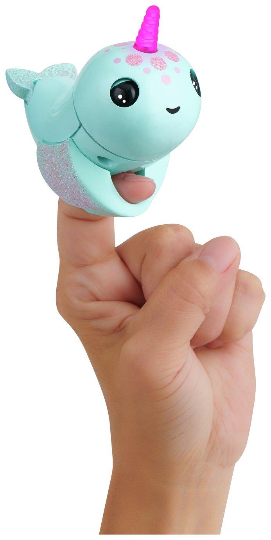 Fingerlings Narwhal Nikki - Turquoise