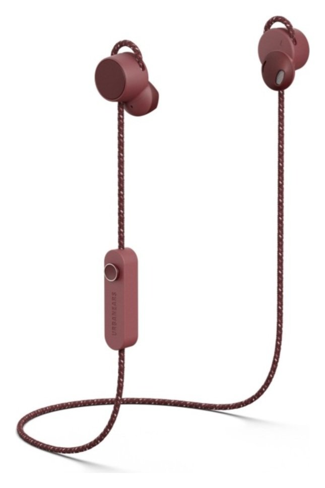 Urbanears Jakan In-Ear Wireless Headphones - Mulberry Red
