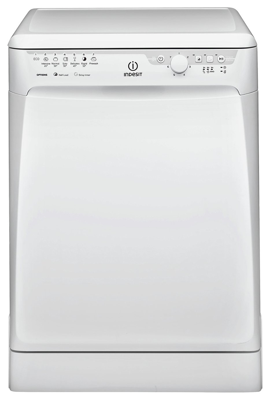 Indesit DFP27B1UK Full Size Dishwasher - White