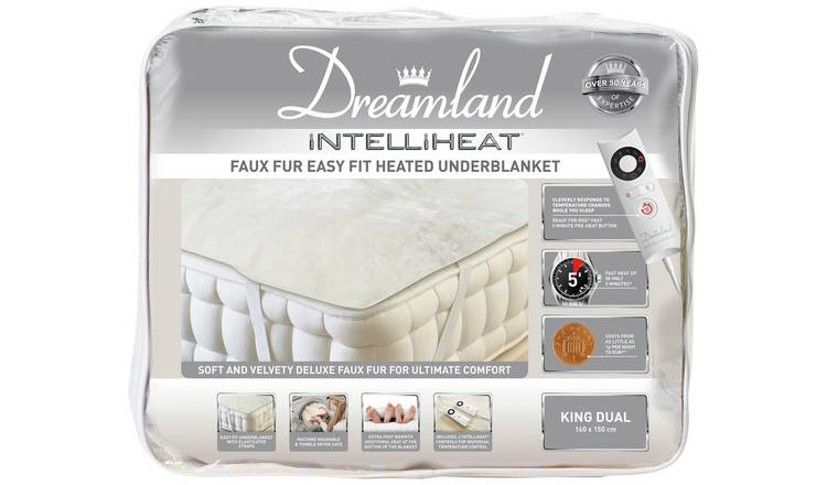 Dreamland Intelliheat Dual Electric Underblanket - Kingsize