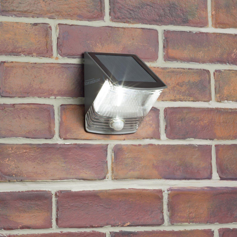 Ranex Solar LED Wall Light with Motion Sensor